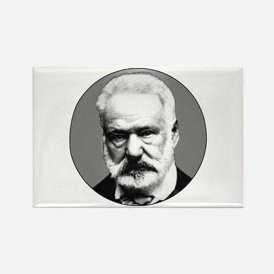 Victor Hugo Rectangle Magnet