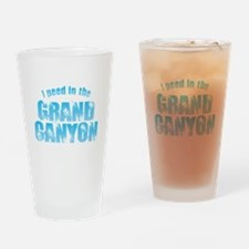 I Peed in the Grand Canyon Drinking Glass