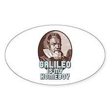 Galileo Oval Sticker (10 pk)