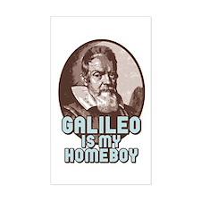 Galileo Rectangle Decal