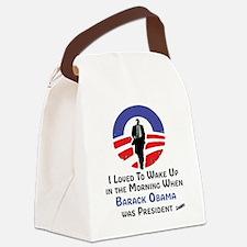 Unique Barack obama Canvas Lunch Bag