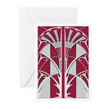 Empire State Elevator Doors - Red (Pk of 10)