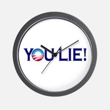 You Lie Obamacare Wall Clock