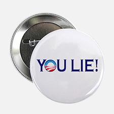 """You Lie Obamacare 2.25"""" Button"""
