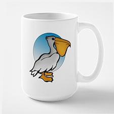 Animal Art Pelican Large Mug