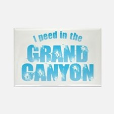 I Peed in the Grand Canyon Magnets