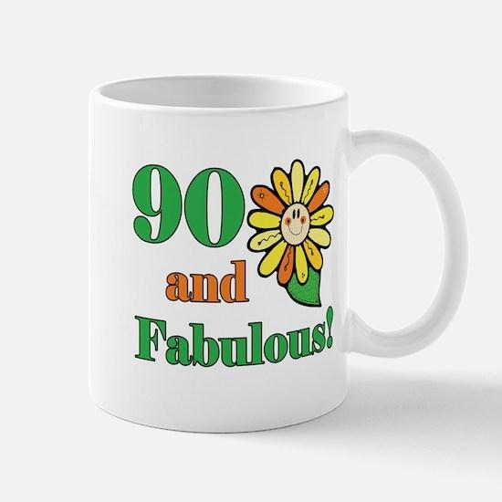 Fabulous 90th Birthday Mug