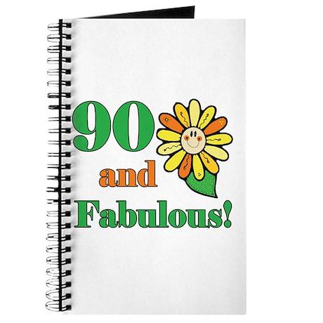 Fabulous 90th Birthday Journal