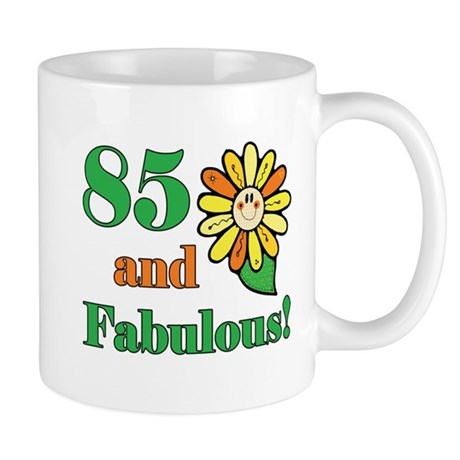 Fabulous 85th Birthday Mug