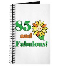 Fabulous 85th Birthday Journal