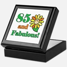 Fabulous 85th Birthday Keepsake Box