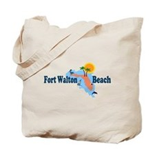Fort Walton Beach FL Tote Bag