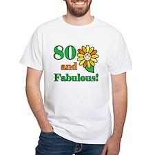 Fabulous 80th Birthday Shirt