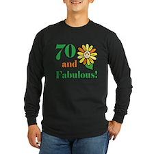Fabulous 70th Birthday T
