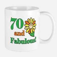 Fabulous 70th Birthday Mug
