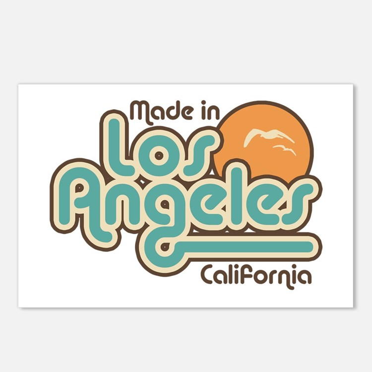 Made In Los Angeles Postcards (Package of 8)