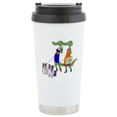 Gator Girls w/ DawgsTravel drink mug