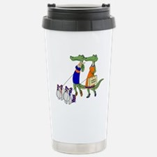 Gator Girls w/ DawgsTravel drink mug
