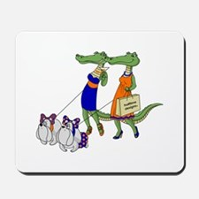Gator Girls w/ Dawgs Mousepad