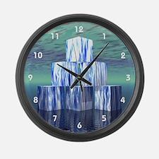 Cubics Large Wall Clock