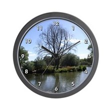 Sandia Lake Wall Clock