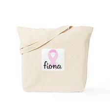 fiona pink ribbon Tote Bag