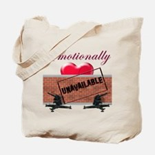 Emotionally Unavailable Tote Bag
