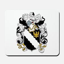 Braddock Coat of Arms Mousepad