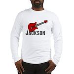 Guitar - Jackson Long Sleeve T-Shirt