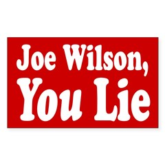 Joe Wilson, You Lie Bumper Decal