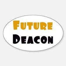 Future Deacon Oval Decal