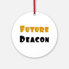 Future Deacon Ornament (Round)