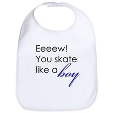 Skate Like a Boy Bib
