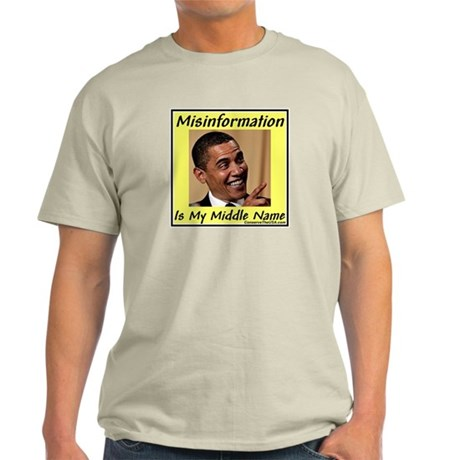 """""""Master of Misinformation"""" Light T-Shirt"""