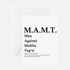 M.A.M.T. Just say No! Greeting Card
