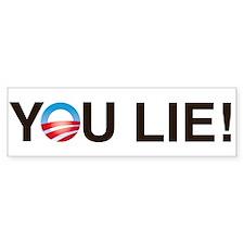 YOU LIE! Bumper Sticker (10 pk)