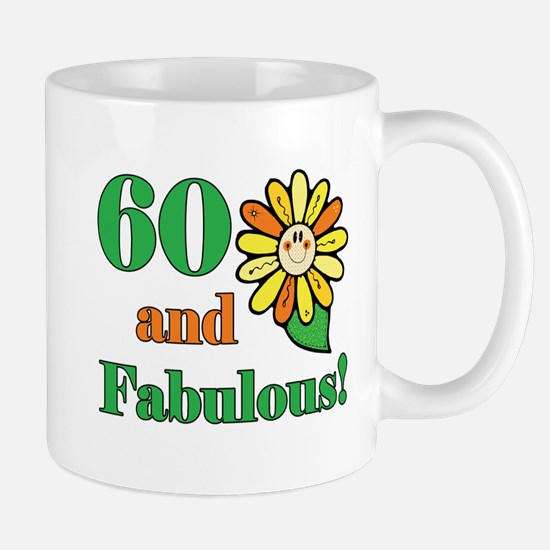 Fabulous 60th Birthday Mug