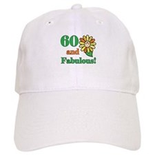 Fabulous 60th Birthday Baseball Cap