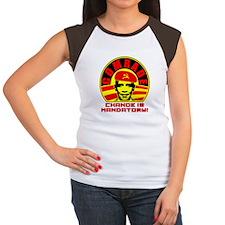 Comrade Obama Women's Cap Sleeve T-Shirt