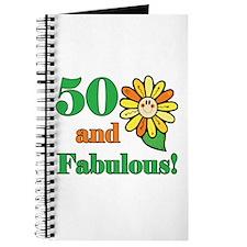 Fabulous 50th Birthday Journal