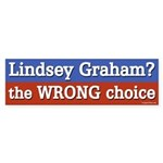 Lindsey Graham the Wrong Choice