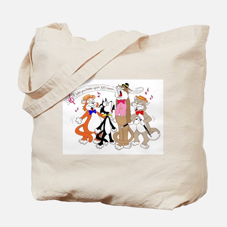 Cute Musicians and musical group Tote Bag