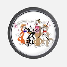 Cute Melody Wall Clock