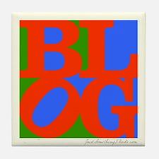 BLOG60s Tile Coaster