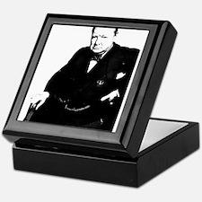 Cute Churchill Keepsake Box