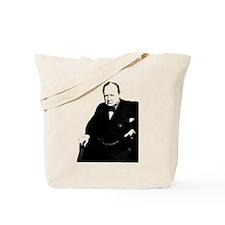 Funny Winston churchill Tote Bag