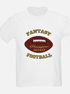 2010 Fantasy Football Champion T-Shirt