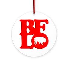 BFLO Ornament (Round)