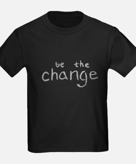 Be The Change (Silver) T