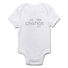Be The Change (Silver) Infant Bodysuit